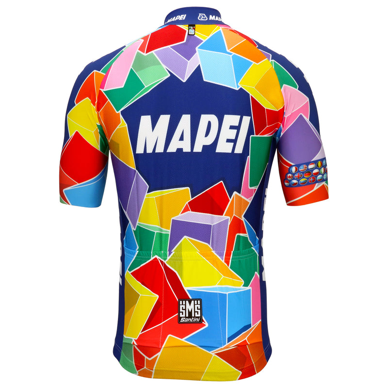 Mapei Retro Jersey - Short Sleeve