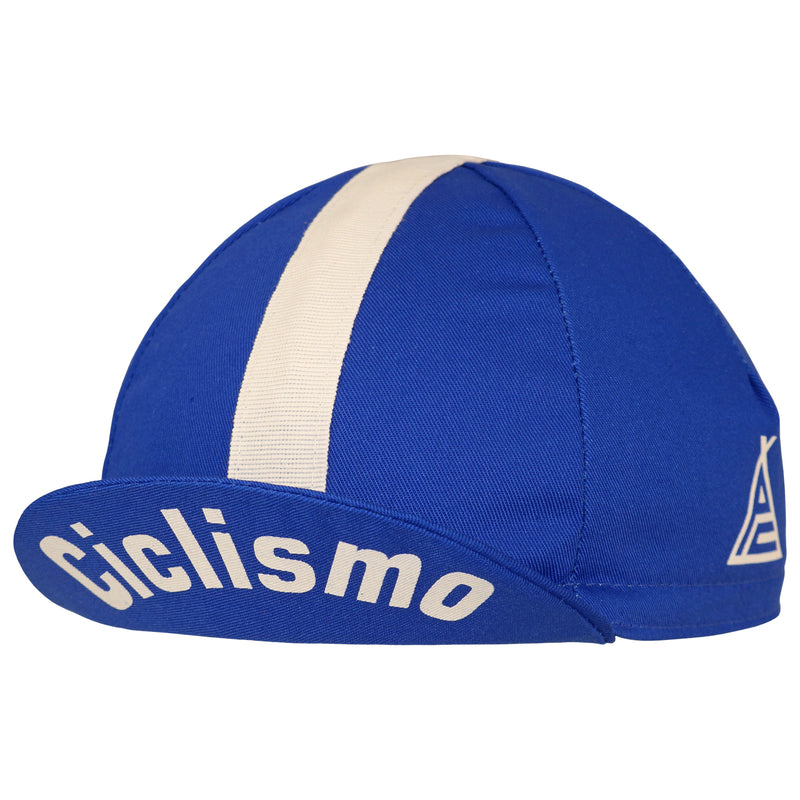 Prendas il Grande Blue Cotton Cycling Cap