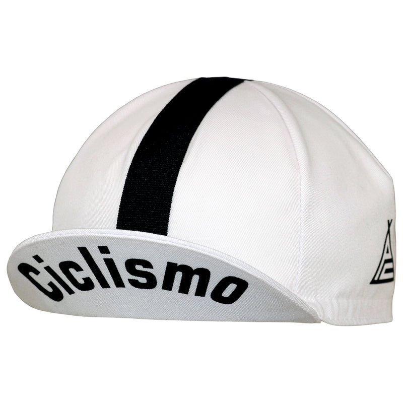 Prendas il Grande White Cotton Cycling Cap
