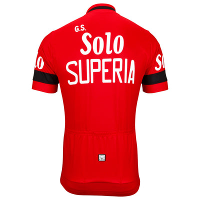 G.S. Solo Superia Retro Jersey from the back