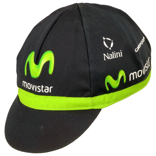 Movistar Guerciotti 2015 Cotton Cycling Cap | Headwear
