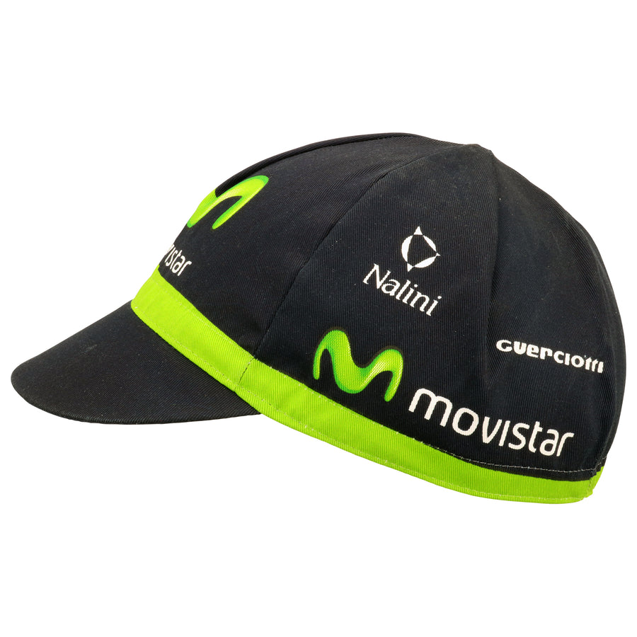 Movistar Guerciotti 2015 Cotton Cycling Cap