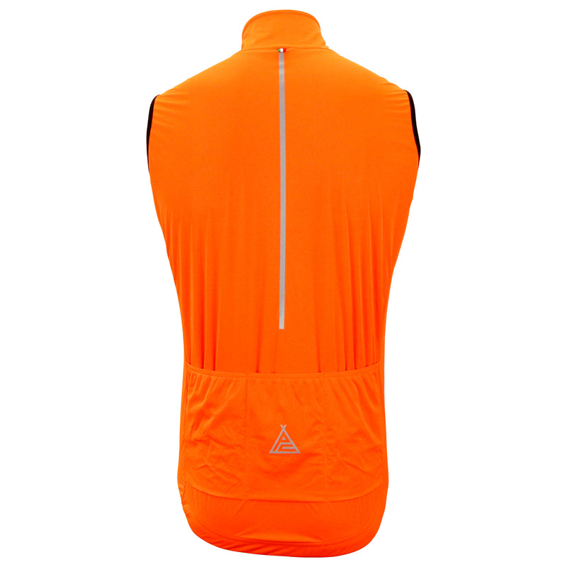 Prendas Ciclismo Orange Guard Gilet by SANTINI