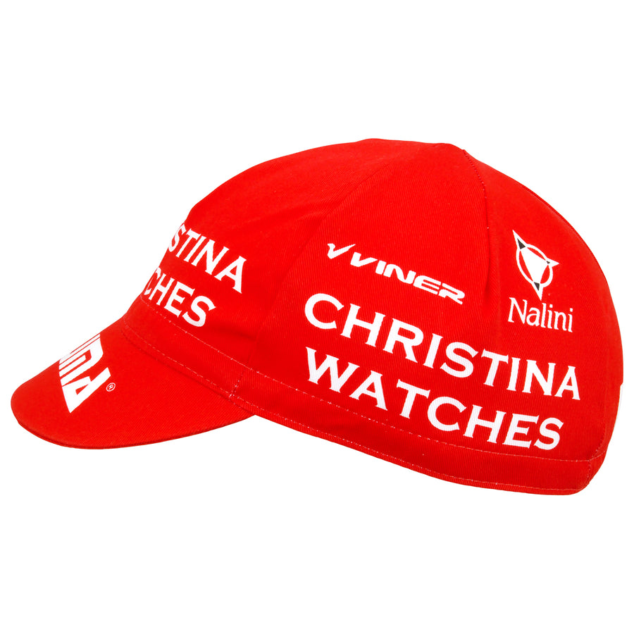 Christina Watches Viner Team Cotton Cycling Cap