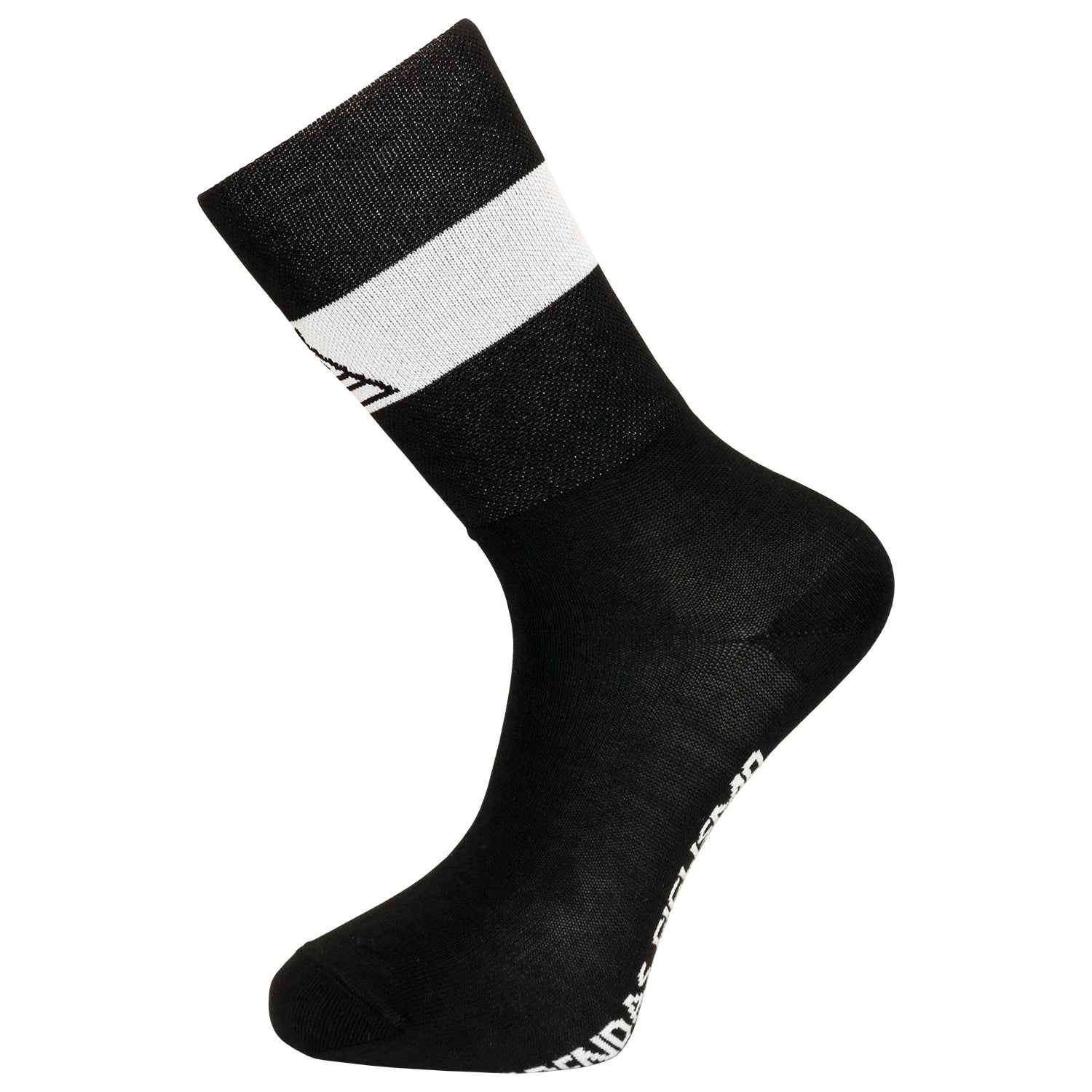 Prendas Ciclismo Team Black Coolmax Socks