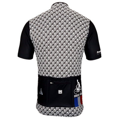 bordeaux paris race jersey from the rear