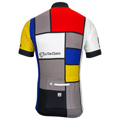 La Vie Claire Retro Full Zip Jersey From The Back