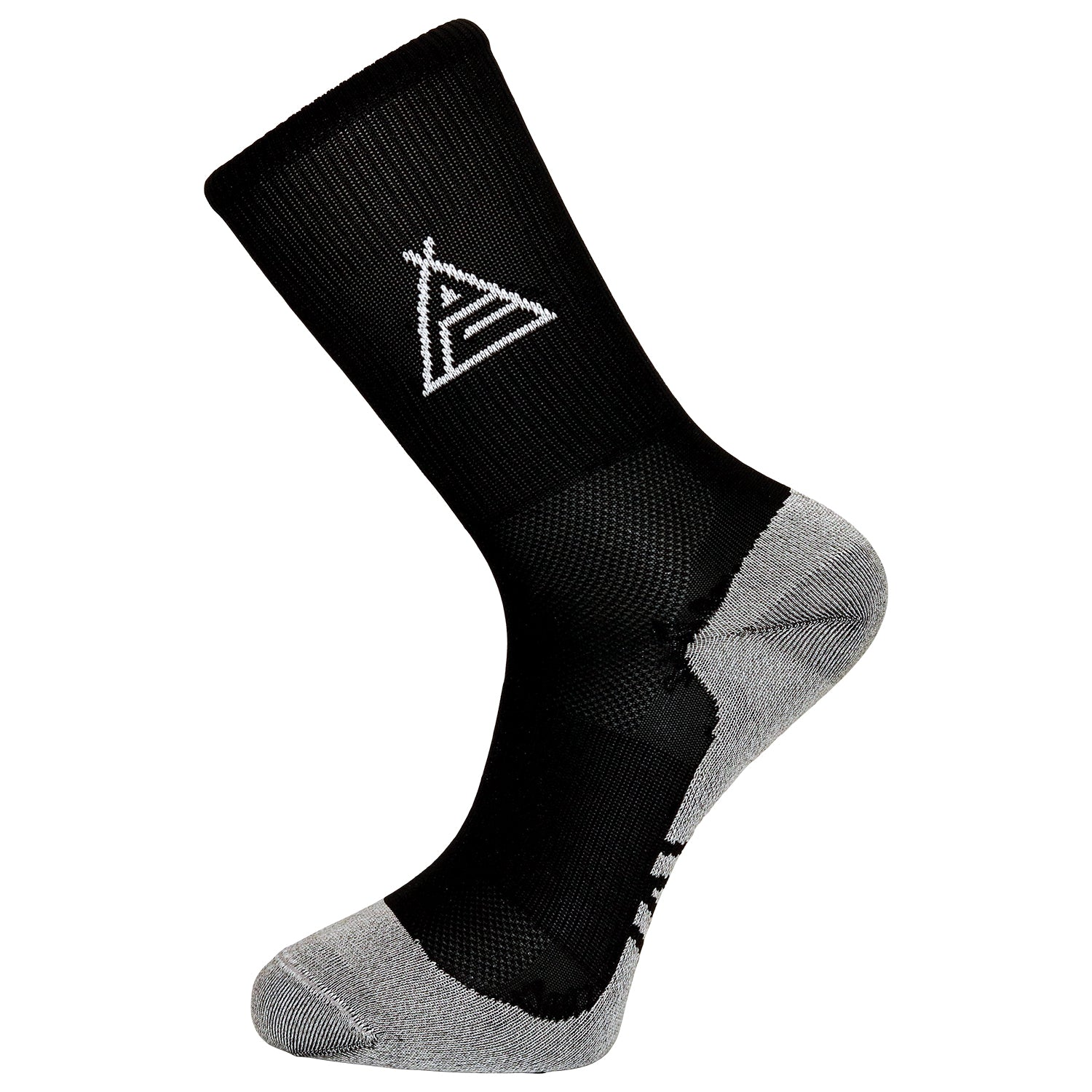 Prendas Spring/Summer Dryarn-Carbon Black Socks