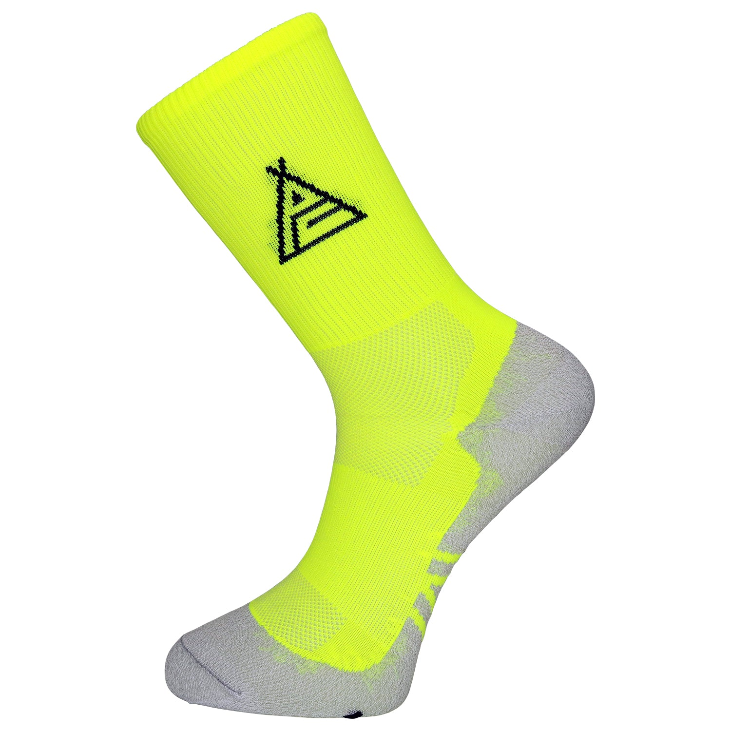 Prendas Spring/Summer Dryarn-Carbon Fluro Yellow Socks