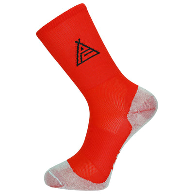 Prendas Spring/Summer Dryarn-Carbon Red Socks