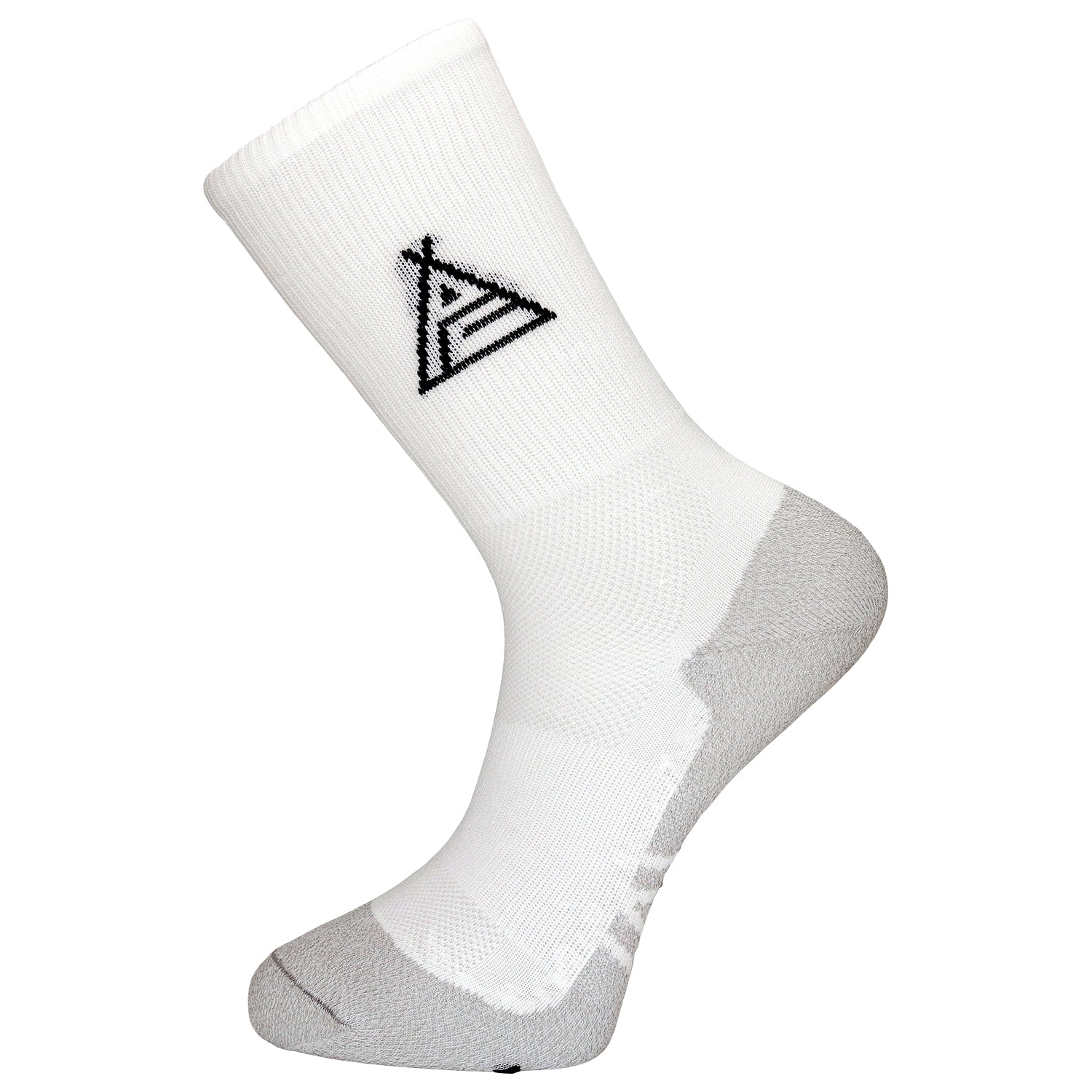 Prendas Spring/Summer Dryarn-Carbon White Socks