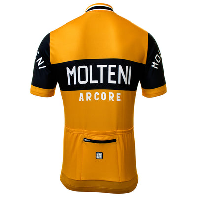 Molteni Arcore Retro Jersey From The Back