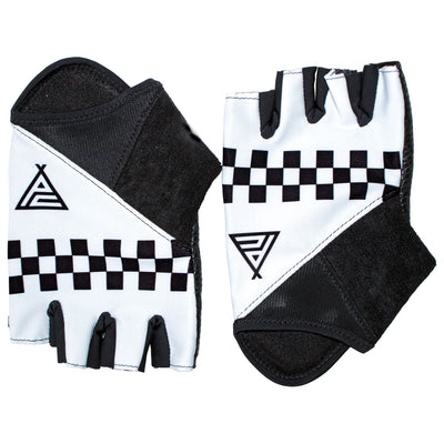Prendas Ciclismo Checkerboard Deluxe Track Mitts/Summer Gloves