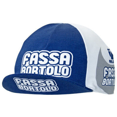 Fassa Bortolo Retro Cotton Cycling Cap