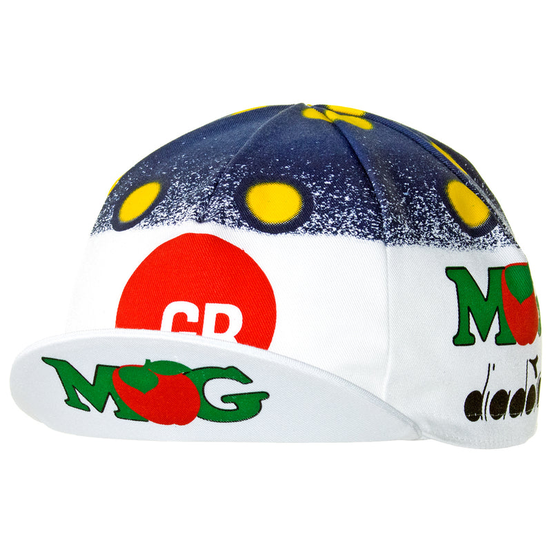 GB MG Maglificio Diadora Retro Cotton Cycling Cap