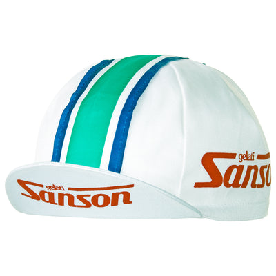 Gelati Sanson Retro Cotton Cycling Cap