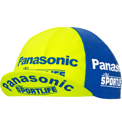 Panasonic Sportlife Retro Cotton Cycling Cap