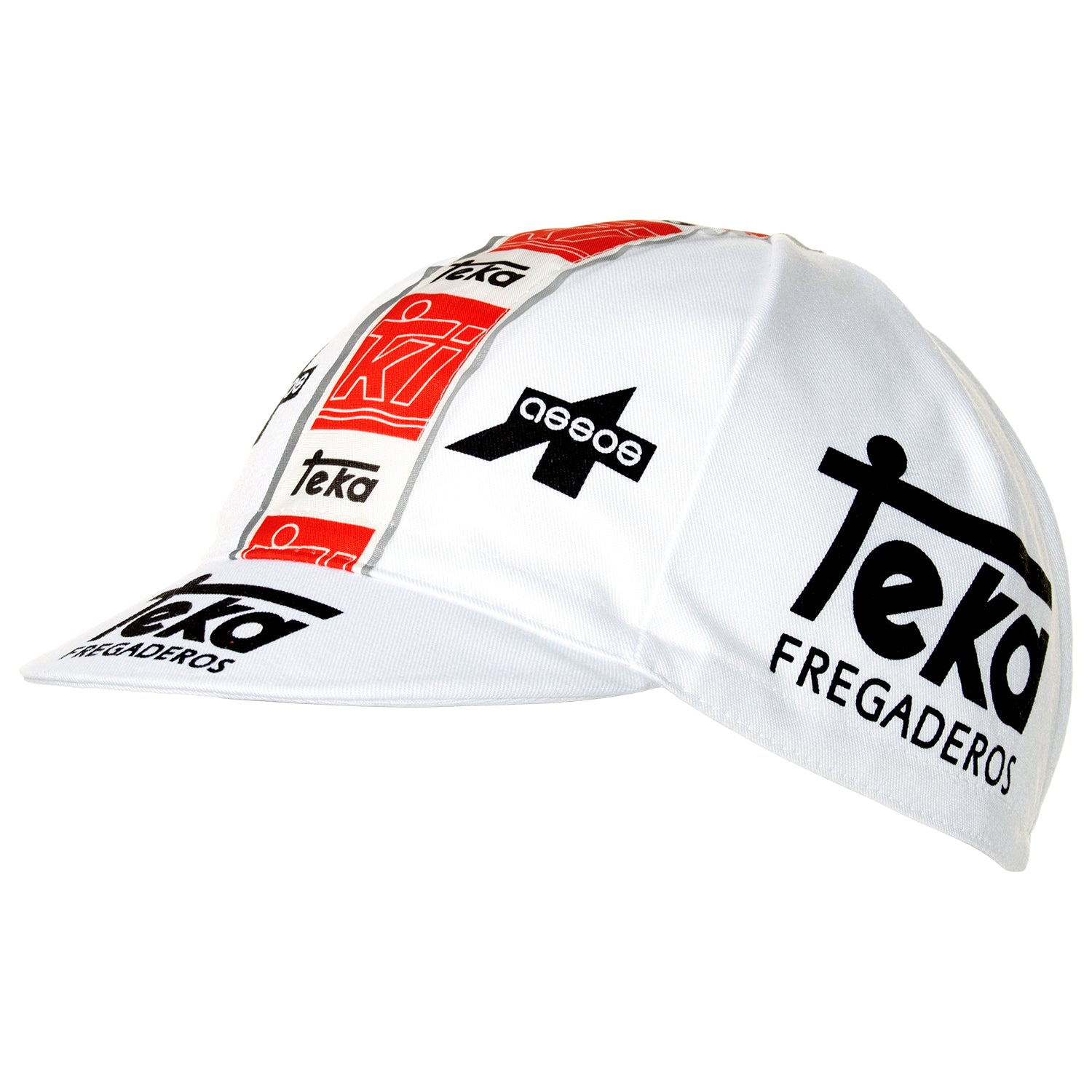 Teka Fregaderos Retro Cotton Cycling Cap