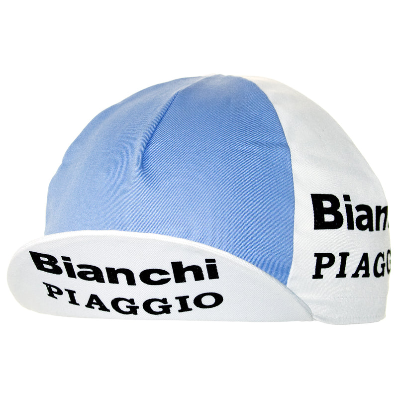 Bianchi/Piaggio Retro Cotton Cycling Cap