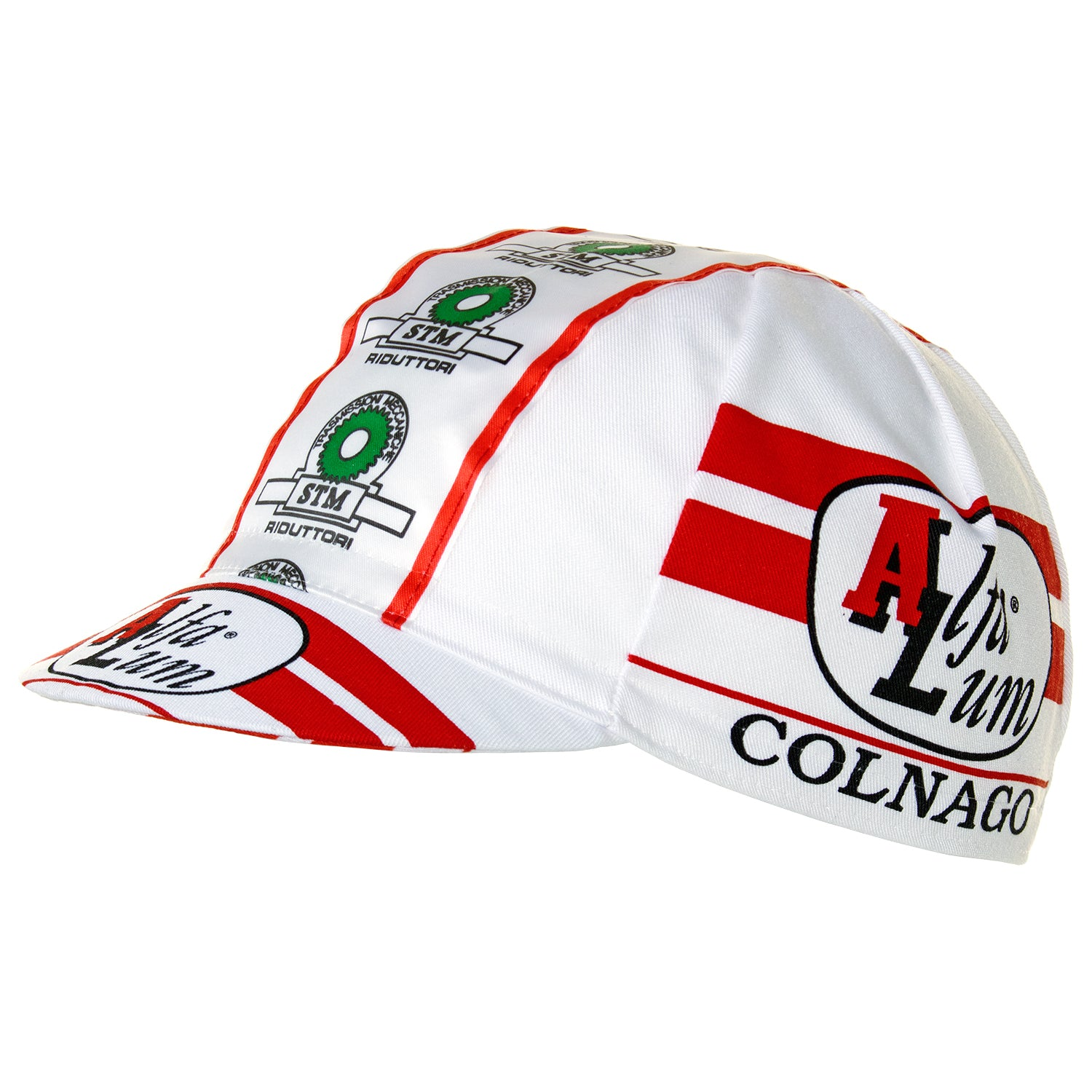 Alfa Lum/Colnago/STM Riduttori Retro Cotton Cycling Cap | Headwear