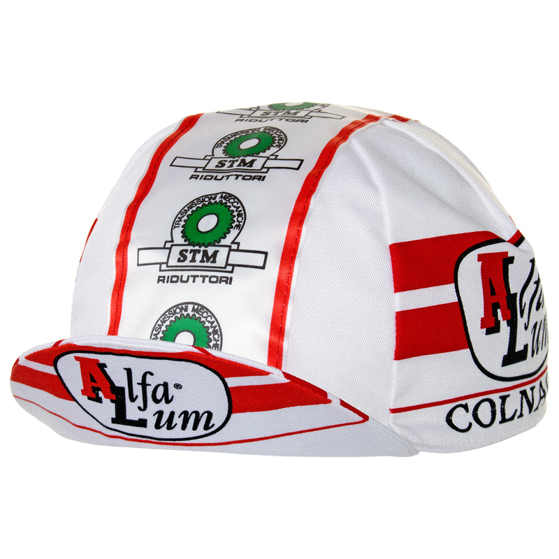 Alfa Lum/Colnago/STM Riduttori Retro Cotton Cycling Cap