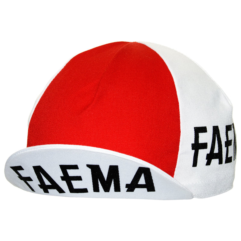 Faema Retro Cotton Cycling Cap
