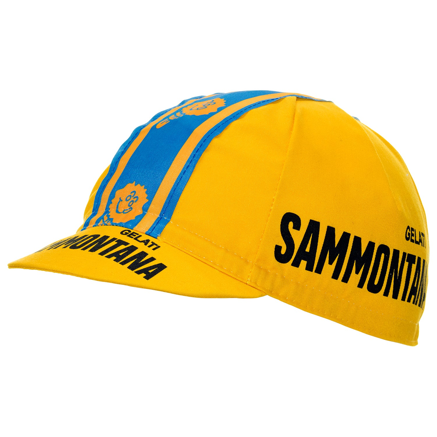 Gelati Sammontana Retro Cotton Cycling Cap