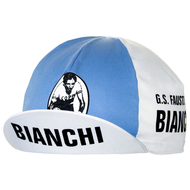 Fausto Coppi Retro Cotton Cycling Cap