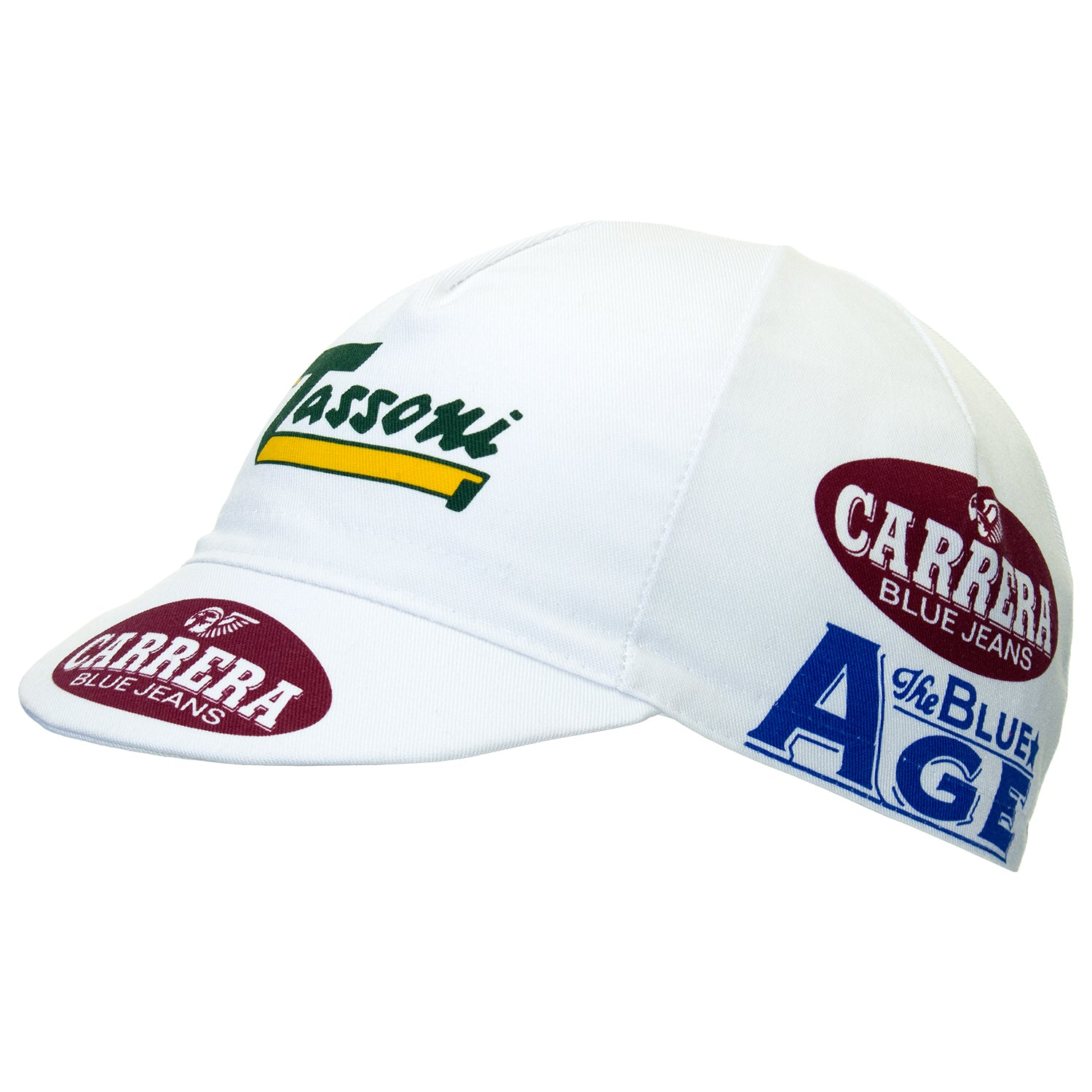 Carrera Jeans/Tassoni Retro Cotton Cycling Cap