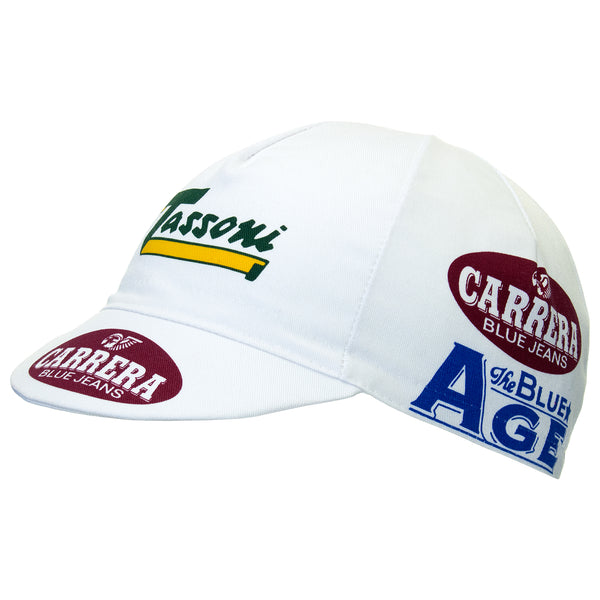 Carrera Jeans/Tassoni Retro Cotton Cycling Cap | Headwear
