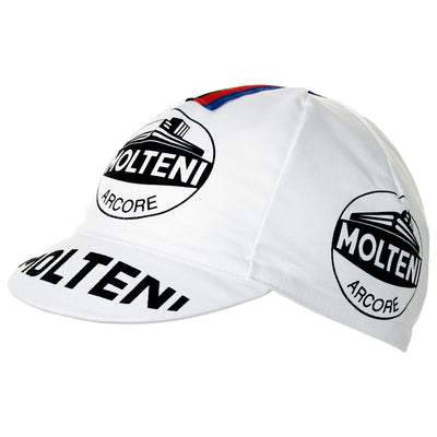 Molteni Arcore Retro Cotton Cycling Cap