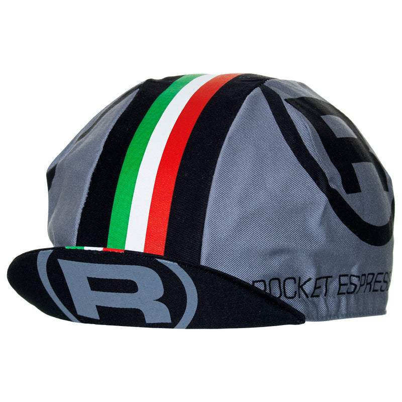 Rocket Espresso Milano Cotton Cycling Cap