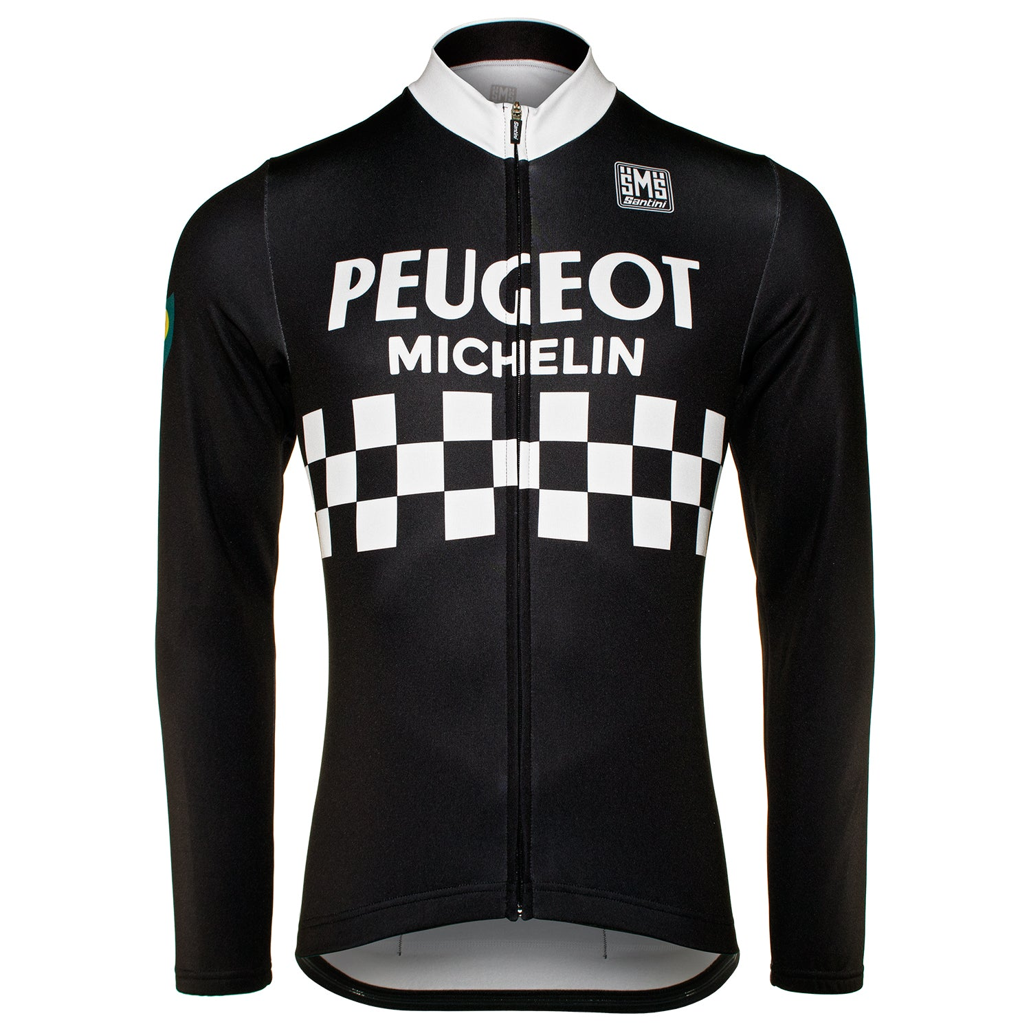 Peugeot BP Michelin Retro Long Sleeve Jersey