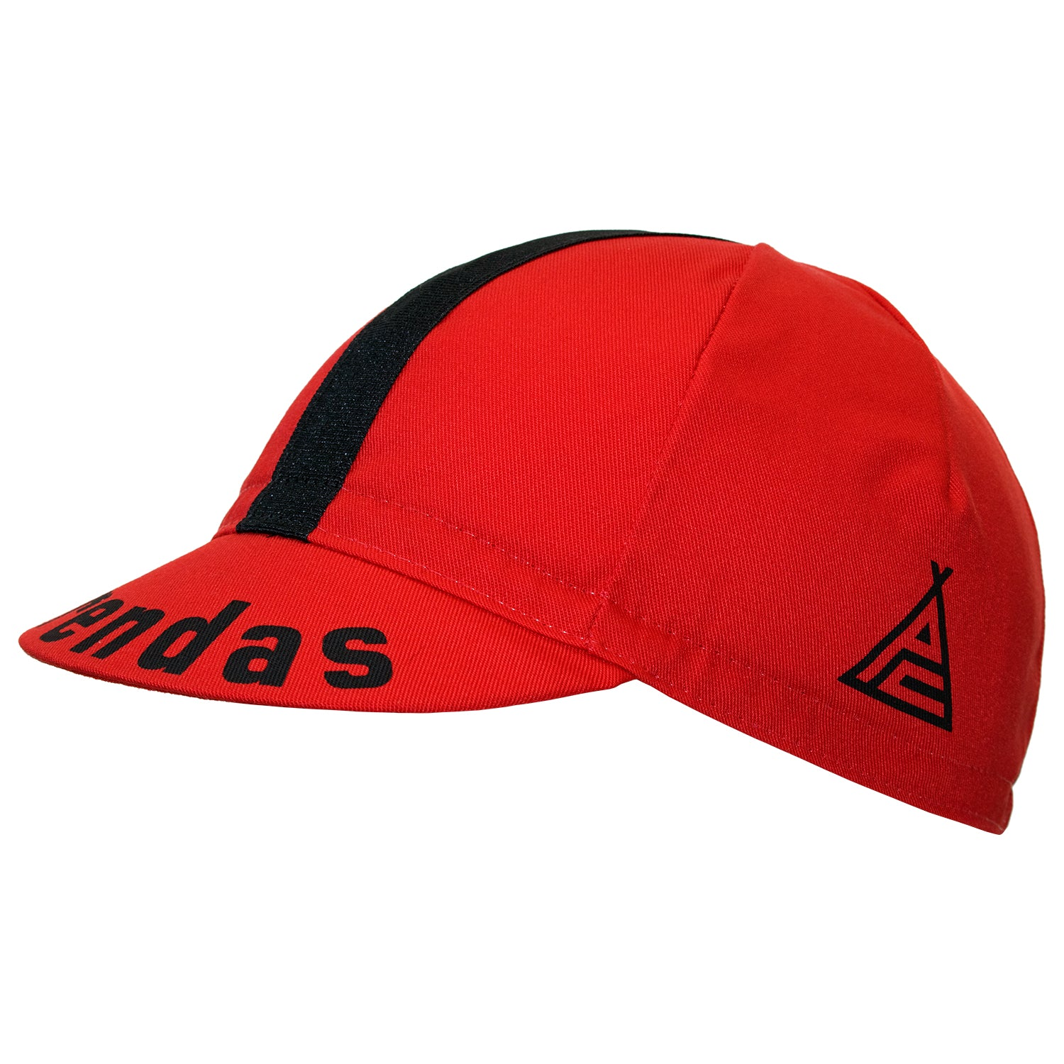 Prendas il Grande Red Cotton Cycling Cap