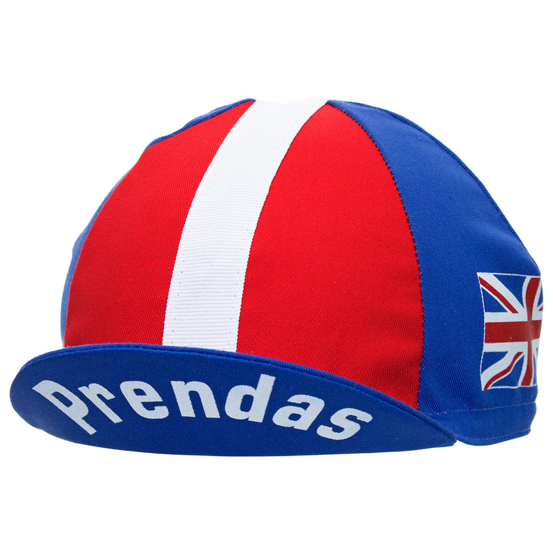 Prendas The Brits Cotton Cycling Cap