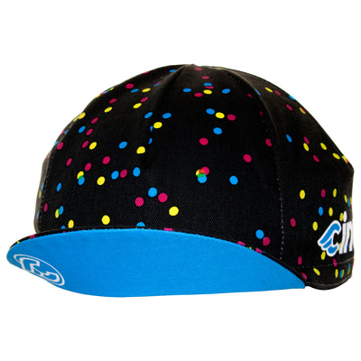 Cinelli Caleido Dots Cotton Cycling Cap