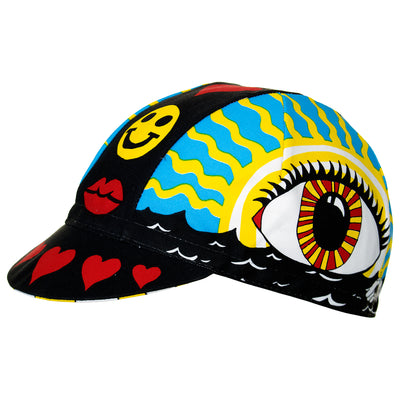 Cinelli Eye of the Storm Cotton Cycling Cap