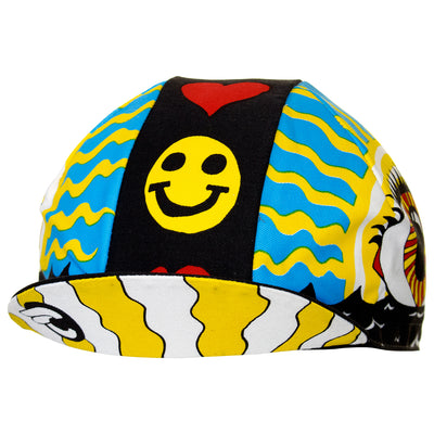 fa2aed5eec9 Cinelli Eye of the Storm Cotton Cycling Cap - Prendas Ciclismo