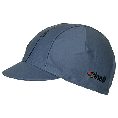 Cinelli Supercorsa Grey Cotton Cycling Cap