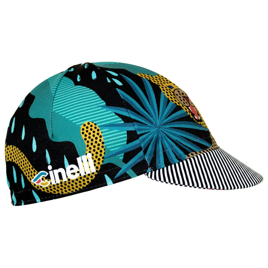 Cinelli Sharp Teeth Cotton Cycling Cycling Cap