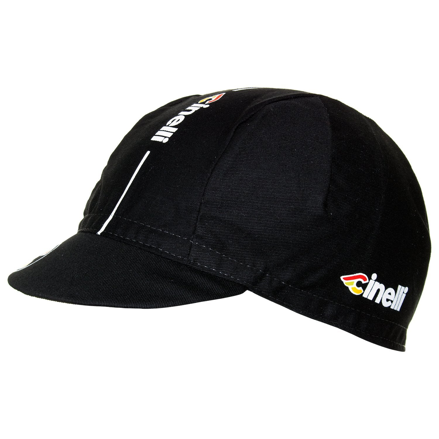 Cinelli Supercorsa Black Cotton Cycling Cap