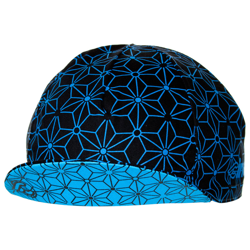 Cinelli Blue Ice Cotton Cycling Cap