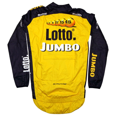 Team Lotto NL Jumbo Waterproof Rain Jacket