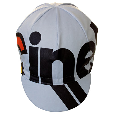 Cinelli Nemo TIG Grey Cotton Cycling Cap