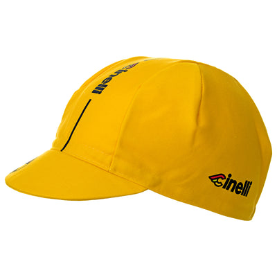 Cinelli Supercorsa Yellow Cotton Cycling Cap