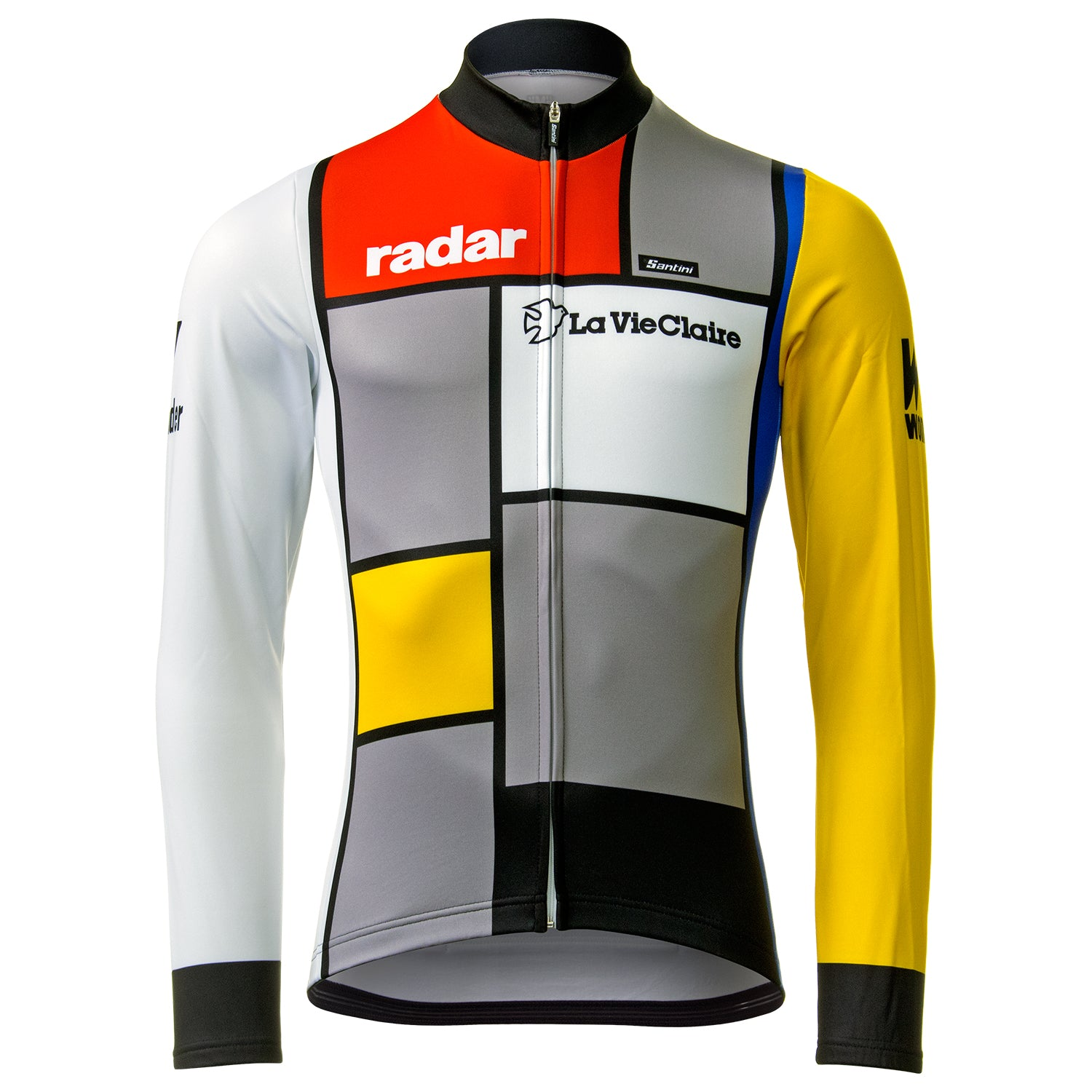 La Vie Claire/Wonder/Radar Retro Long Sleeve Jersey