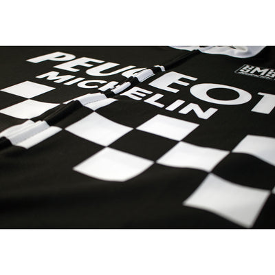 Peugeot BP Michelin Black Retro Jersey