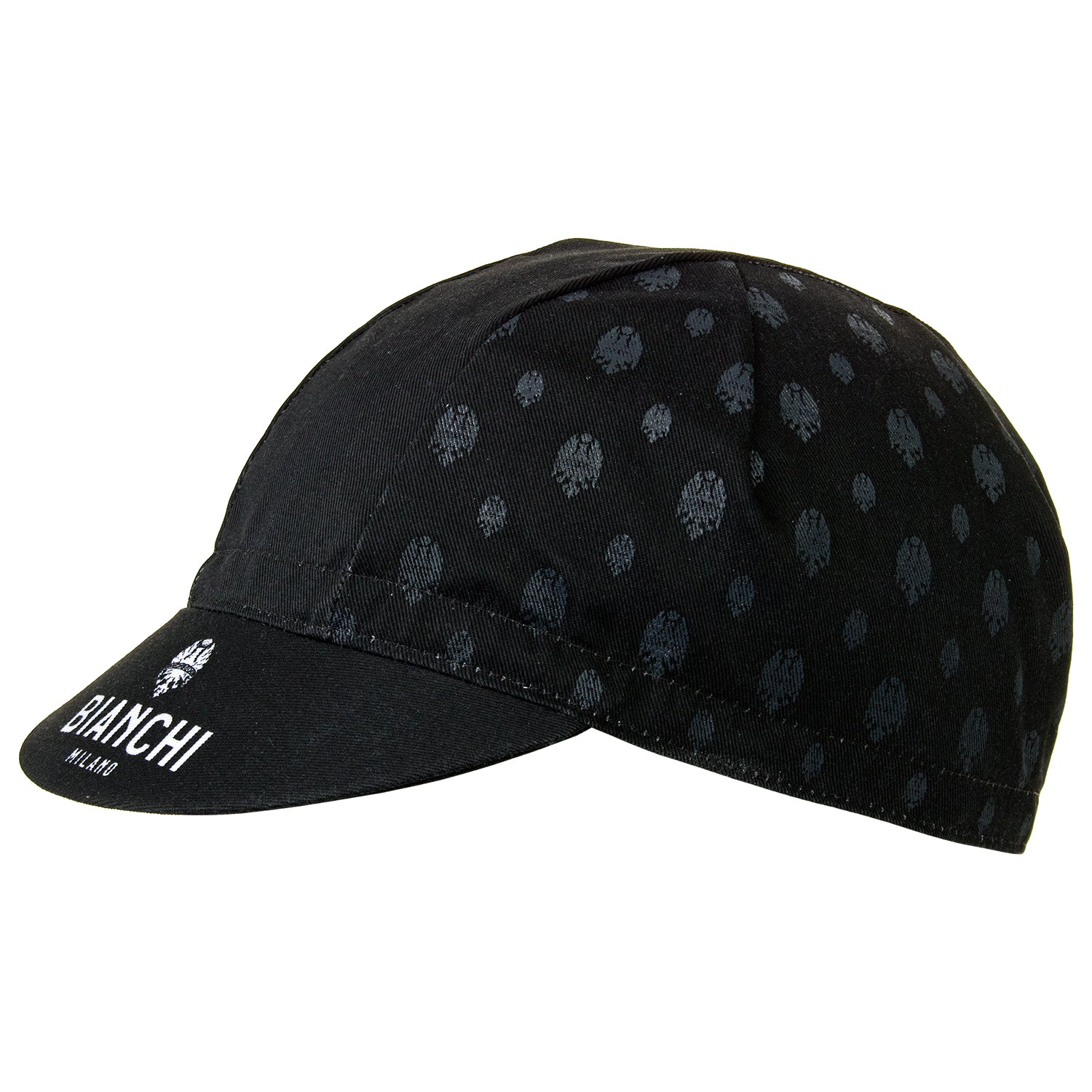 Bianchi Cycling Cap - Neon Black/Grey