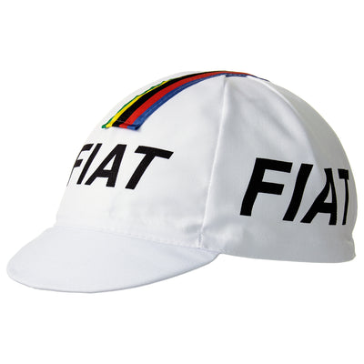 Fiat Retro Cotton Cycling Cap
