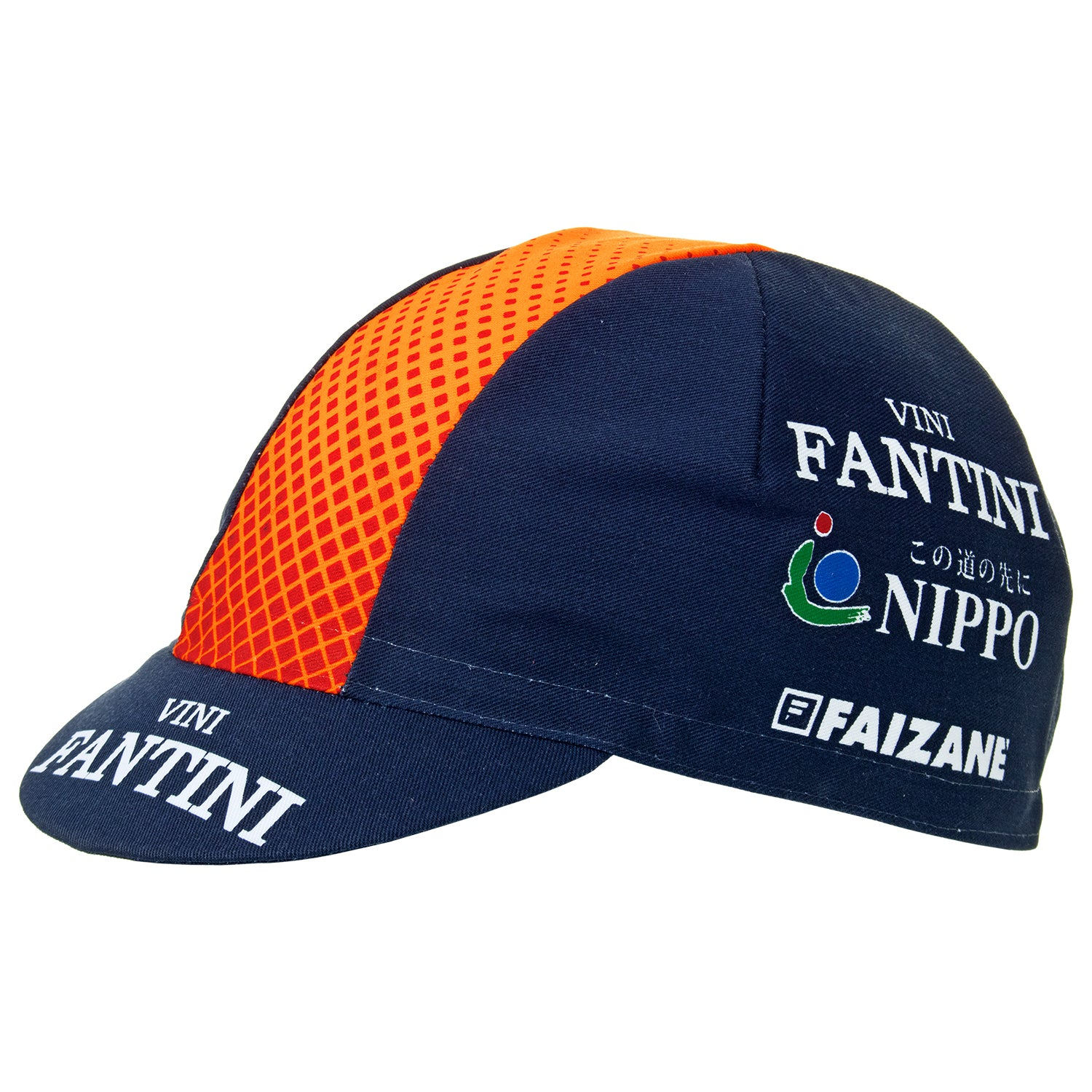 Nippo Vini Fantini Faizanè 2019 Team Cotton Cycling Cap